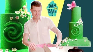 Disney-Inspired MOANA Cake 🏝️DAN CAN BAKE IT CHALLENGE 8