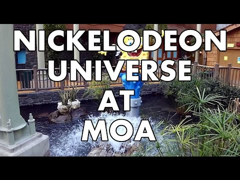 Nickelodeon Universe Theme Park Overview