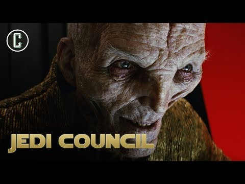 Andy Serkis's Thoughts on Snoke Returning in Episode IX - Jedi Council