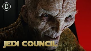 Snoke Returning in Episode 9? Andy Serkis's Comments - Jedi Council