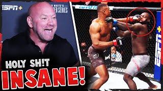 Reactions to the 20-second KO in Francis Ngannou vs Jairzinho Rozenstruik, Tony Ferguson, UFC 249