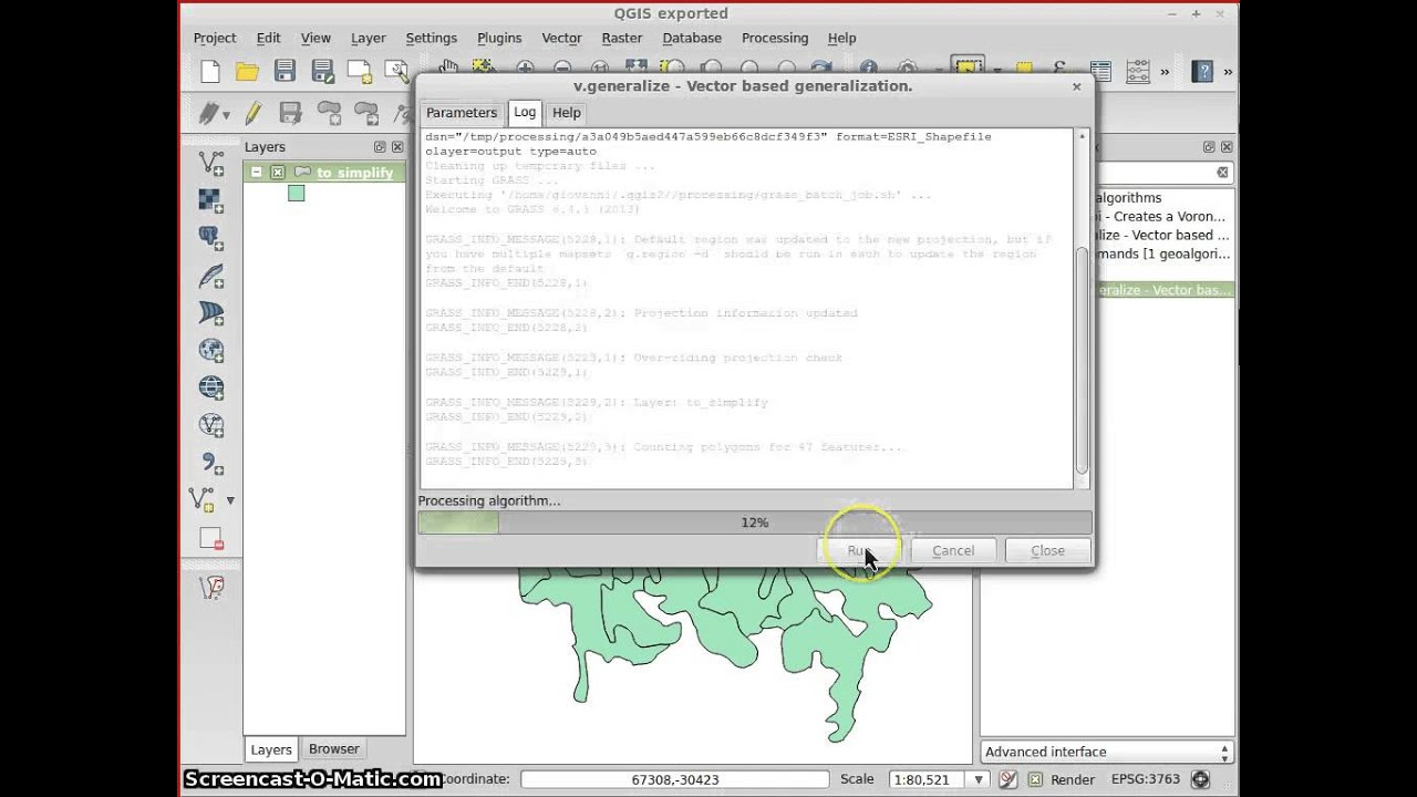 Topologically correct polygon simplification in QGIS 2 using  processing/GRASS
