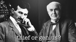 How Thomas Edison Cheated Nikola Tesla Out Of $50,000