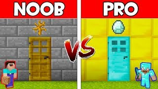 Minecraft - NOOB vs PRO : SECRET DOOR in Minecraft ! AVM SHORTS Animation