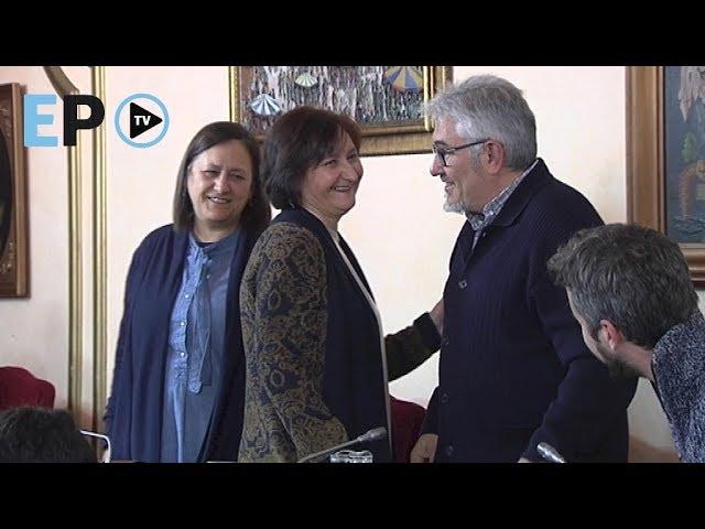 Pleno de despedida de Iñaki García
