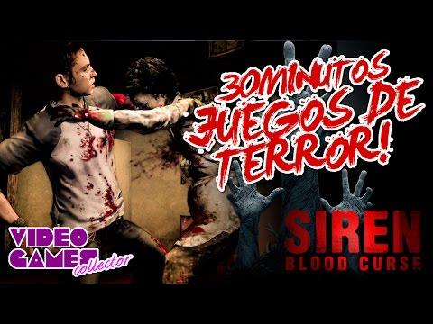 3O MINUTOS de Siren: Blood Curse (PS2, PS3) JUEGOS DE TERROR!!