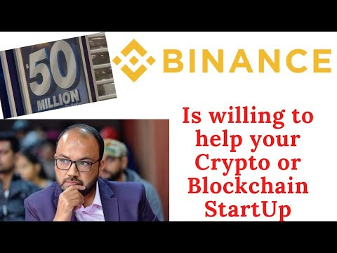 Binance is willing to support your startup dream. Apply today. 18