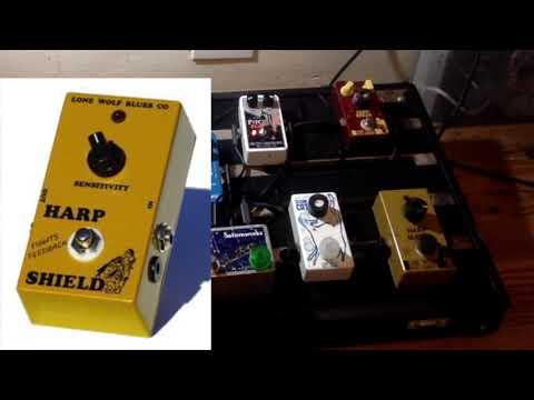 Jason Ricci's  Amp, Mic And PEDAL BOARD (2019)