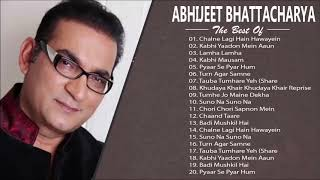 Best Of अभिजीत भट्टाचार्य - ABHIJEET BHATTACHARYA Songs   Latest Bollywood Romantic Songs