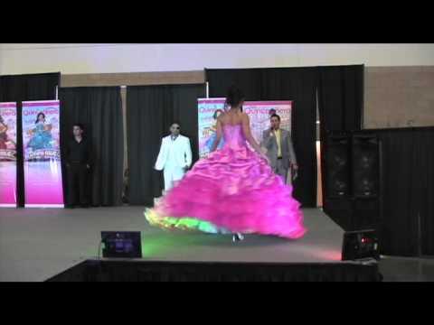 """Texas Quinceañeras Magazine expo """" La Glitter """""""
