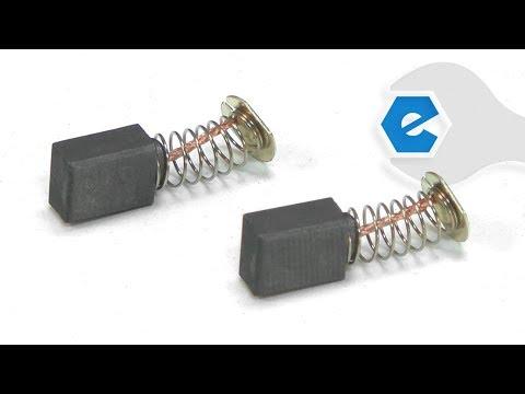 Makita Belt Sander Repair - Replacing The Carbon Brushes (Makita Part # CB408)