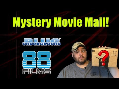 Mystery Movie Mail From: Horror Fanatic David Clayton!