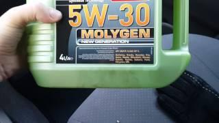 Масло Ликви Моли молиген 5w30, Liqui Moly Molygen, залил в свой приус 20