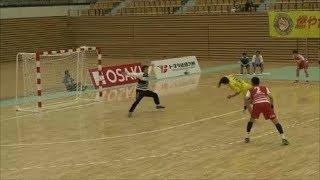 【ハンドボール】社会人選手権トヨタ車体VS大同特殊シュートシーン【handball】