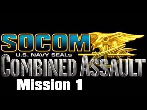 SOCOM: U.S. Navy SEALs Combined Assault: Winterblade: Mission 1 (Lets Play)