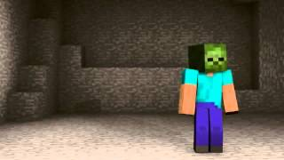 Minecraft-การ์ตูน ตอน เเกล้งเป็นZomBie-