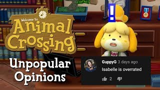 Unpopular Animal Crossing Opinions