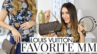LOUIS VUITTON FAVORITE MM REVIEW | What