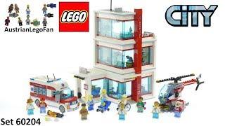 Lego City 60204 LEGO® City Krankenhaus - Lego Speed Build Review
