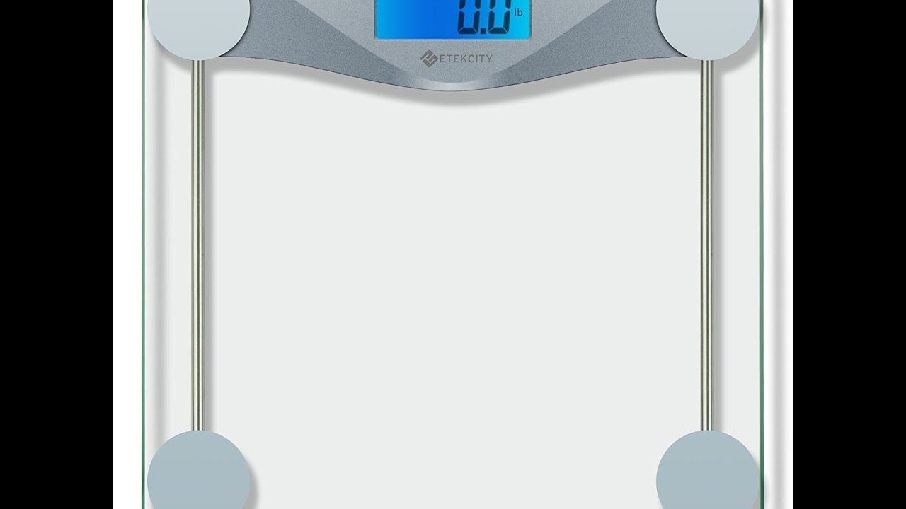 Etekcity Digital Body Weight Bathroom Scale Etekcity Digital - Digital vs analog bathroom scale