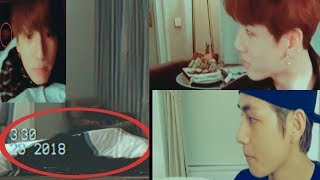 Taehyung's cloth and reflection in Jungkook's live (Taekook kookv analysis)