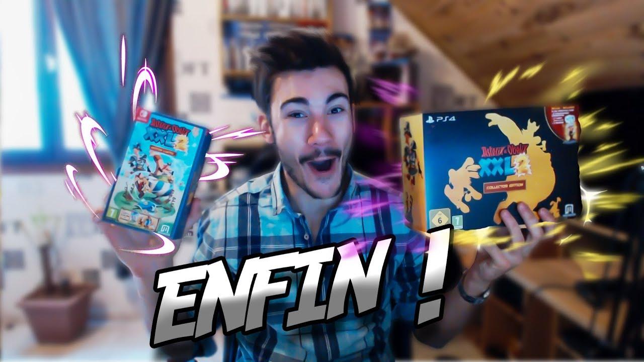 Unboxing Asterix Et Obelix Xxl 2 Edition Collector Et Limitee Ps4