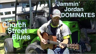 Jammin' Jordan DOMINATES Church Street Blues! Tree Man Plays The Axe!