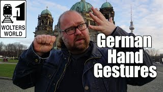 German Hand Gestures That Throw Off Tourists