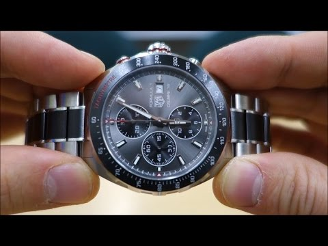TAG Heuer Formula 1 Calibre 16 Review (CAZ2012.BA0970) - Perth WAtch #1