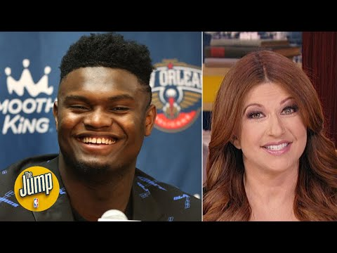 Rachel Nichols scolds the haters who declared Zion's NBA debut a dud too early  The Jump