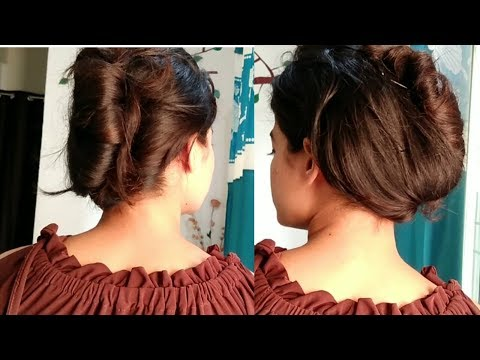 सबसे आसान तरीका  for French roll  hairstyle.|| Very easy way to make French roll.|| French twist. thumbnail