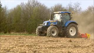 New Holland 6080 powerharrowing