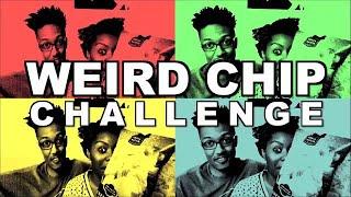Weird Potato Chip Challenge!   Weird Flavor Chip Taste Test