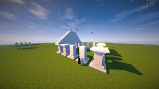 Ancient Greece Temple Timelapse  (History Project)