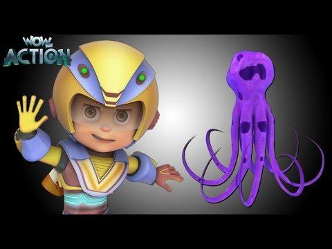 Hindi Kahaniya | Vir: The Robot Boy | Hindi Cartoon Video| Moral Stories for Kids | Blob Attack