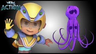 Hindi Kahaniya | Vir: The Robot Boy | Hindi Cartoon Video| Moral Stories for Kids | Blob Attack