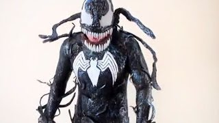 New Venom Costume With Webshooters!