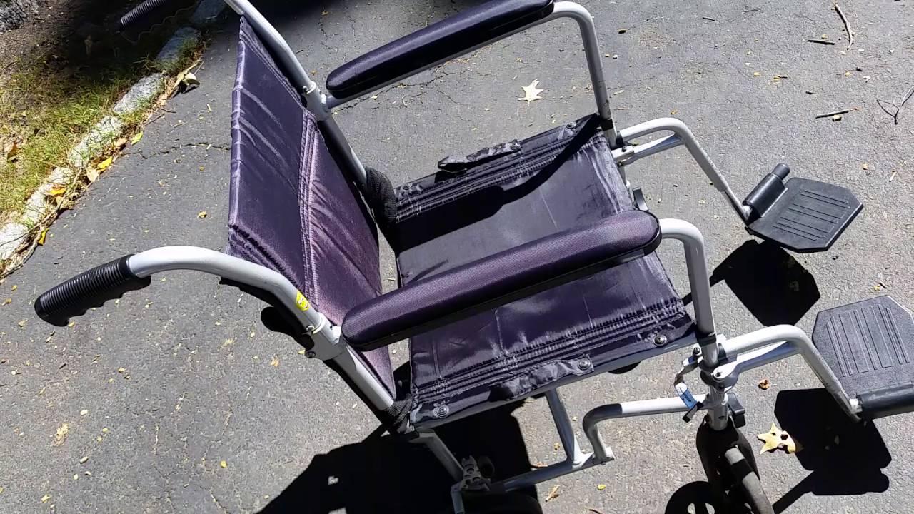 carex transport chair cheap egg pod closing the 07vt handicapp youtube