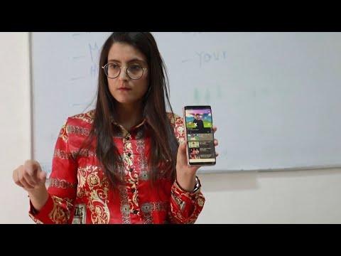 تطبيق تونسي على الهاتف المحمول يساعد الصم والبُكم على تعلم اللغة الإنجليزية  - 17:01-2019 / 11 / 17