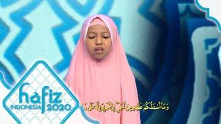 HAFIZ INDONESIA 2020 | Lantunan Suara Yang Indah Dari Humairah Hafiz Indonesia 2019 [06 Mei 2020]