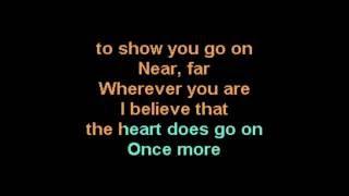 Celine Dion Titanic Dance Remix karaoke performance male vocal version CustomKaraoke RARE custom Mix