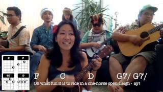 Jingle Bells // Easy Ukulele Holiday Play-along