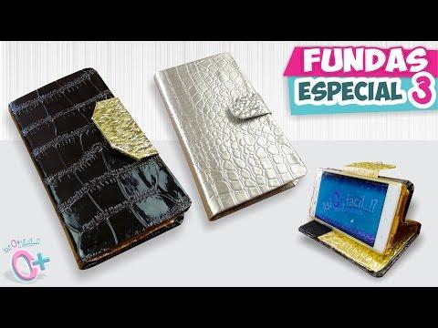 FUNDAS CASERAS para Celular - Estilo ELEGANTE (Especial 3) ★Así o más fácil★ DIY