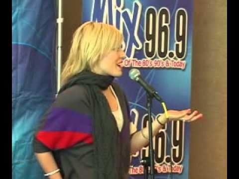 Natasha Bedingfield - Angel - Mix 96.9 Unplugged