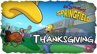 Die Simpsons: Springfield - Thanksgiving 2015 + Secret & Halloween Fazit! (Deutsch / German)