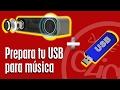 FORMATEAR PENDRIVE PARA MÚSICA: Prepara Pendrive para reproducir en radios, altavoces, coches
