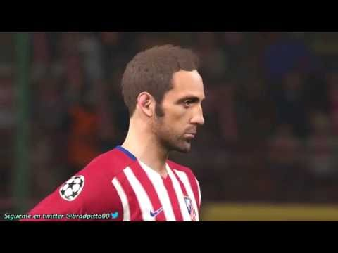PES 2016 GAMEPLAY SIMULACIÓN Real Madrid vs Atlético de Madrid FINAL Uefa Champions League