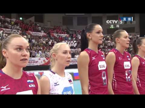 2015 Women Volleyball World's Cup China VS Russia