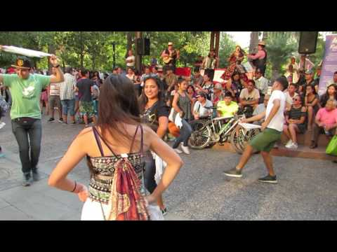 Cueca Dance in Santiago , Chile - 2017