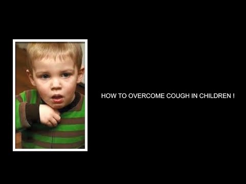 do you awake at night because your child's cough? do not worry..This method can overcome your fears!